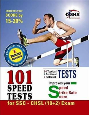 101 Speed Tests for SSC - CHSL (10 + 2) Exam (Success Guarantee) : Improves Your Speed / Strike Rate / Score (English) 1st  Edition price comparison at Flipkart, Amazon, Crossword, Uread, Bookadda, Landmark, Homeshop18