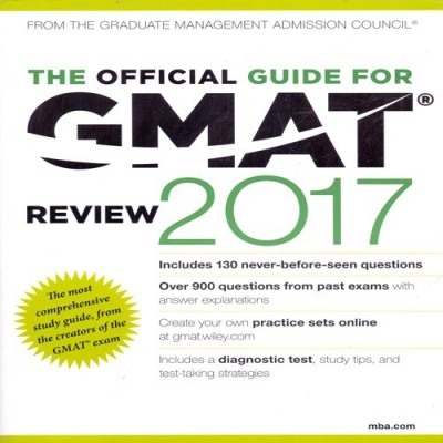 The Official Guide for GMAT Review 2017 (English) price comparison at Flipkart, Amazon, Crossword, Uread, Bookadda, Landmark, Homeshop18