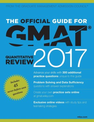 The Official Guide for GMAT Quantitative Review 2017 with Online Question Bank and Exclusive Video (English) price comparison at Flipkart, Amazon, Crossword, Uread, Bookadda, Landmark, Homeshop18