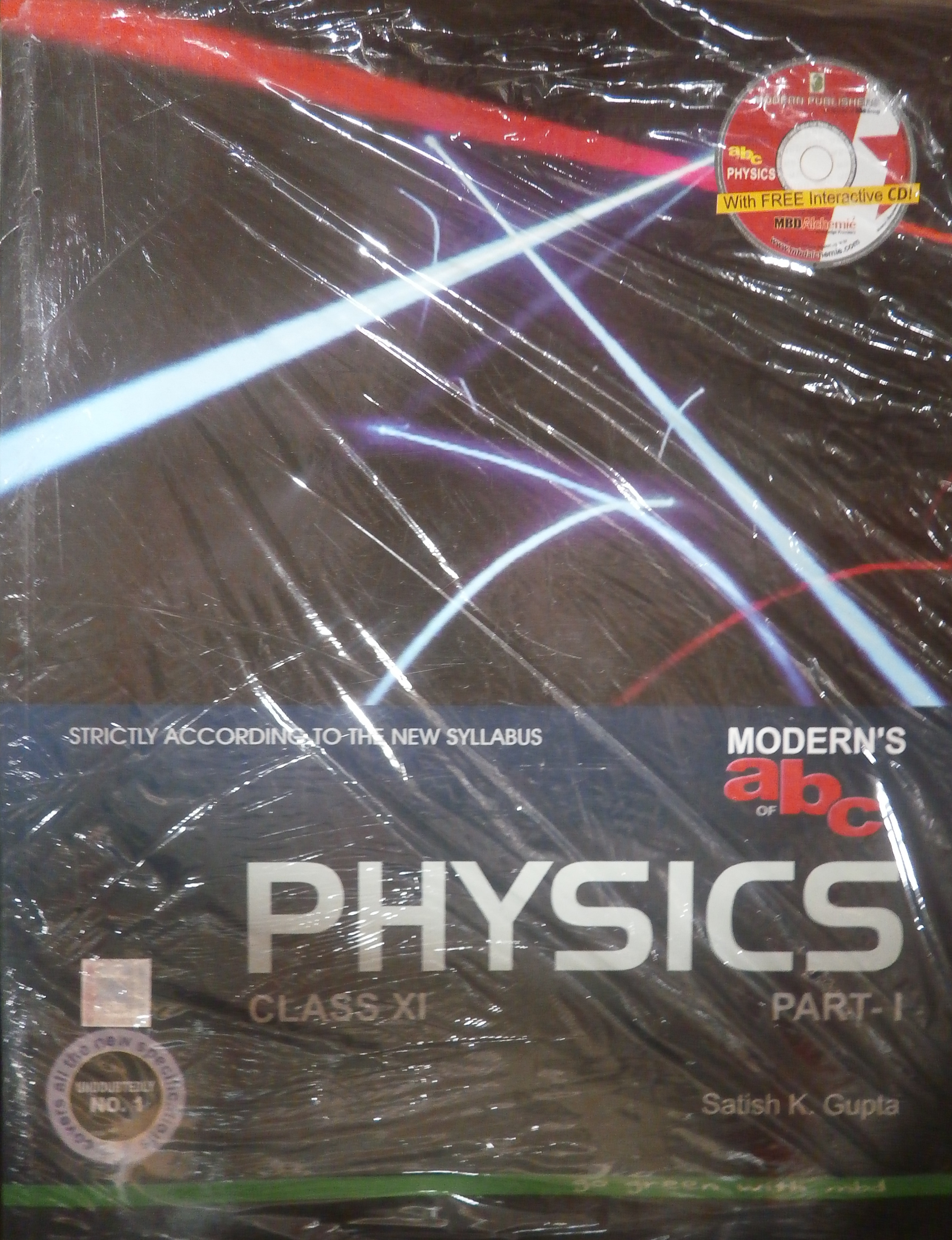 Modern's abc of Physics for Class - 11, Part - 1 & 2 (With CD) (English) 24th Edition (Paperback) price in India.