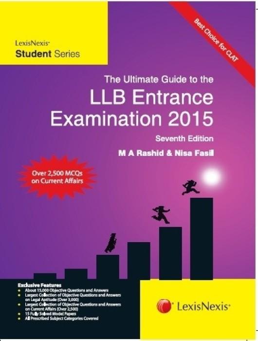 Books for LLB entrance for delhi university?