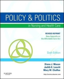 Policy and Politics in Nursing and Healthcare - Revised Reprint (English) 0006 Edition (Paperback)