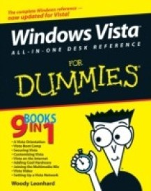 Windows Vista All-in-One Desk Reference for Dummies( Series - For Dummies (Computer/Tech) ) (English) (Paperback)