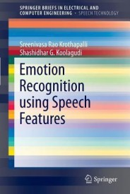 Emotion Recognition Using Speech Features (English) (Paperback)