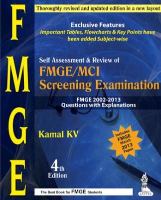 SELF ASSESSMENT&REVIEW OF FMGE/MCI SCREENING EXAMINATION 2002-2013 QUE.WITH EXP. (English) price comparison at Flipkart, Amazon, Crossword, Uread, Bookadda, Landmark, Homeshop18