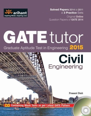 GATE Tutor 2015 - Civil Engineering (With CD) (English) 6th Edition price comparison at Flipkart, Amazon, Crossword, Uread, Bookadda, Landmark, Homeshop18