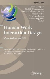 Human Work Interaction Design. Work Analysis and Hci (English) (Hardcover)