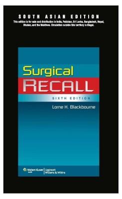 Surgical Recall 6th Edition price comparison at Flipkart, Amazon, Crossword, Uread, Bookadda, Landmark, Homeshop18