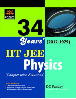 Buy physics IIT JEE solutions chapters 34 year (English) 01 Edition: Book