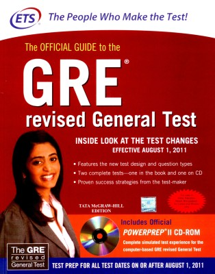 Buy The Official Guide to the GRE Revised General Test (With CD) 1st Edition: Book