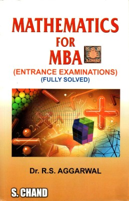 Buy Mathematics for MBA Entrance Examinations (Fully Solved) 22nd Edition: Book