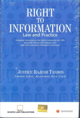Book on Right to Information law