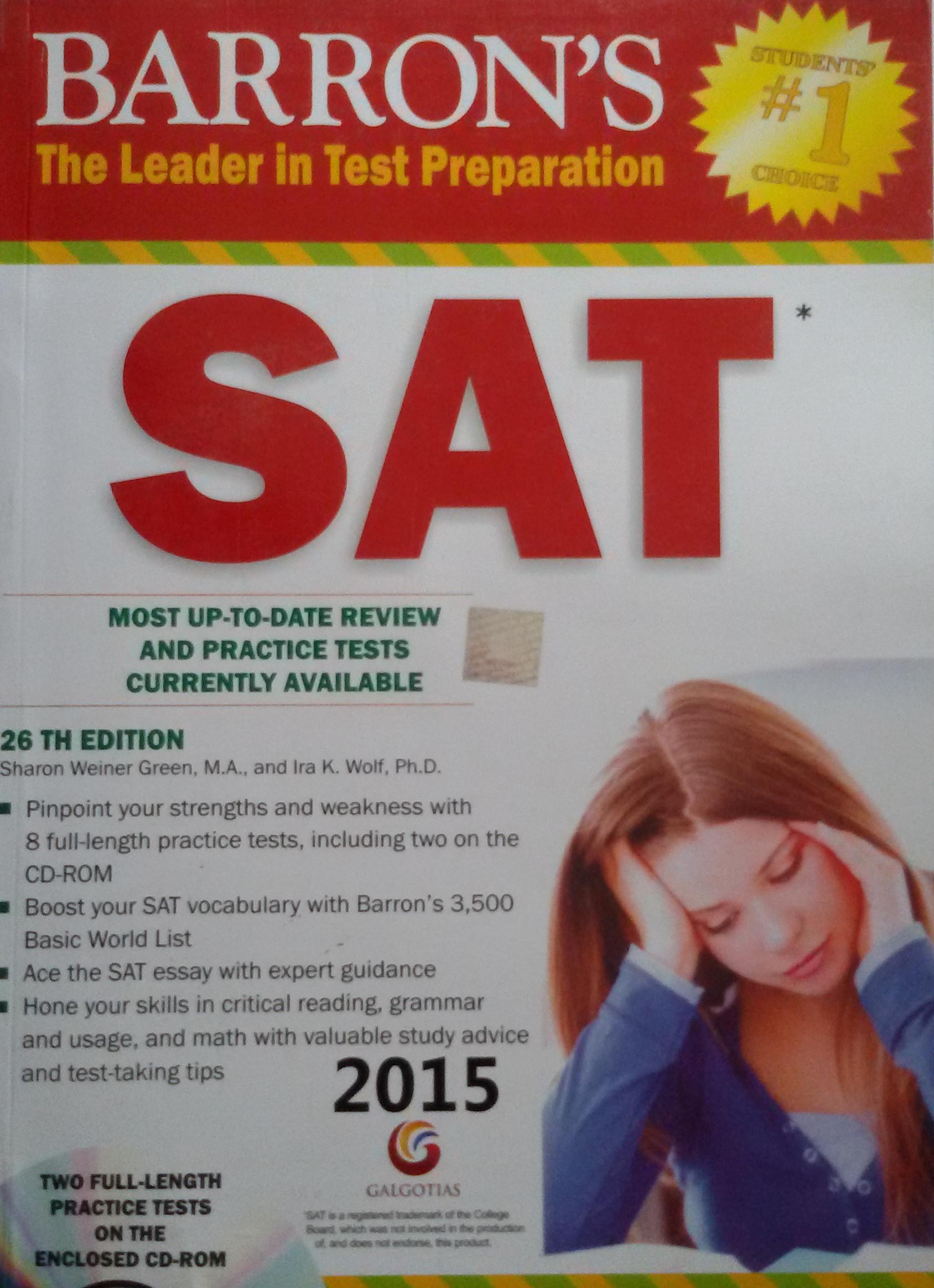 Barrons Sat 26th Edition Pdf