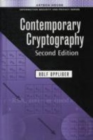 Contemporary Cryptography (English) 2 Rev ed Edition (Hardcover)
