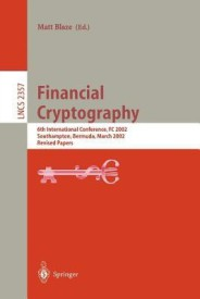 Financial Cryptography (English) (Paperback)