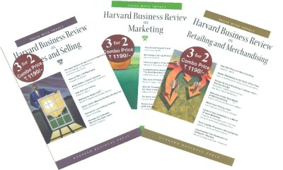 Buy HBR On Marketing and Sales Box Set 1 (Set Of 3 Books) (English): Book
