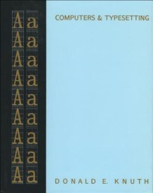 Computers and Typesetting - The Textbook (English) 1st  Edition (Trade Cloth)