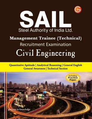 Buy SAIL- Management Trainee Technical Civil Engineering PB (English) 4th  Edition: Book