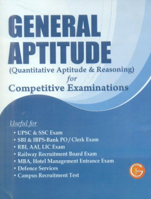 Buy General Aptitude: Quantitative Aptitude & Reasoning for Competitive Examinations: Book