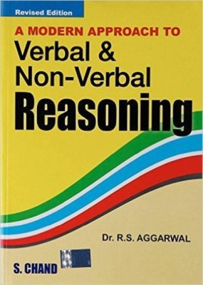 A Modern Approach To Verbal & Non-Verbal Reasoning (English) Revised Edition price comparison at Flipkart, Amazon, Crossword, Uread, Bookadda, Landmark, Homeshop18