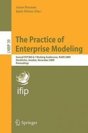 The Practice of Enterprise Modeling (English) (Paperback)