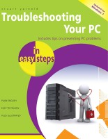 Troubleshooting Your PC: Includes Tips on Preventing PC Problems 2nd  Edition: Book