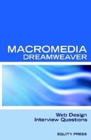 Macromedia Dreamweaver Web Design Interview Questions: Macromedia Dreamweaver Review Guide (English) 0th Edition (Paperback)