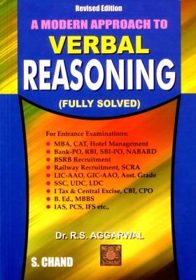 A Modern Approach to Verbal Reasoning 2nd Edition price comparison at Flipkart, Amazon, Crossword, Uread, Bookadda, Landmark, Homeshop18