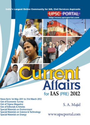 Buy Current Affairs For IAS (PRE) 2012 (English): Book