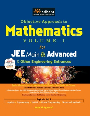 Objective Approach to Mathematics for JEE Main & Advanced and Other Engineering Entrances (Volume - 1) price comparison at Flipkart, Amazon, Crossword, Uread, Bookadda, Landmark, Homeshop18