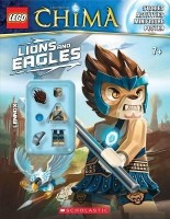 Lego Legends of Chima: Lions and Eagles [With Minifigure]: Book