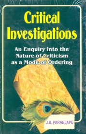 Critical Investigations (English) 1st Edition (Hardcover)