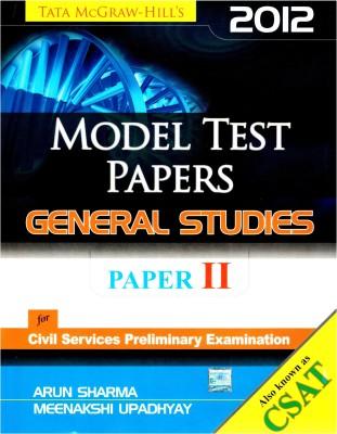 Model Test Papers General Studies (Paper II) 1st Edition price comparison at Flipkart, Amazon, Crossword, Uread, Bookadda, Landmark, Homeshop18