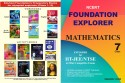 NCERT FOUNDATION EXPLORER MATHEMATICS FOR CLASS 7 (English): Book