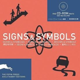 Signs and Symbols: Signs & Symboles, Signos & Simbolos, Zeichen & Symbole, Segni & Simboli, Sinais & Simbolos (Pepin Patterns, Designs and Graphic Themes) (Paperback)