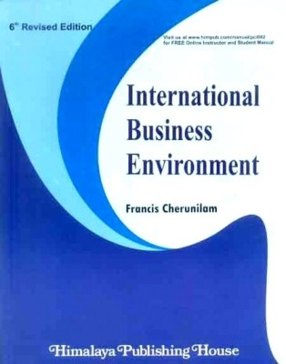 International Business Environment 6th Edition (English) 6th  Edition price comparison at Flipkart, Amazon, Crossword, Uread, Bookadda, Landmark, Homeshop18