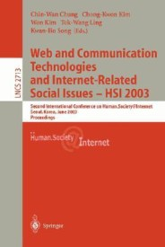 Web Communication Technologies and Internet-Related Social Issues - Hsi 2003 (English) (Paperback)