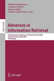 Advances In Information Retrieval (English) 1st Edition (Paperback)