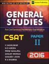 General Studies Paper 2 (2016) For Civil Services Preliminary Examination (English): Book