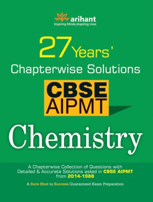 cbse pmt Cbse aipmt chemistry - 27 years' chapterwise solutions 7th edition (english, paperback, arihant experts.
