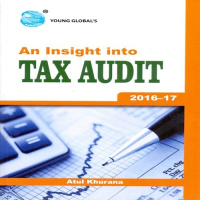 Book on Tax Audit 2016-17