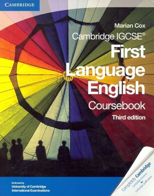 Buy Cambridge IGCSE First Language English Coursebook, 3/e PB (English) 3rd  Edition: Book