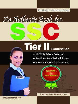 An Authentic Book for SSC Tier - 2 Examination price comparison at Flipkart, Amazon, Crossword, Uread, Bookadda, Landmark, Homeshop18
