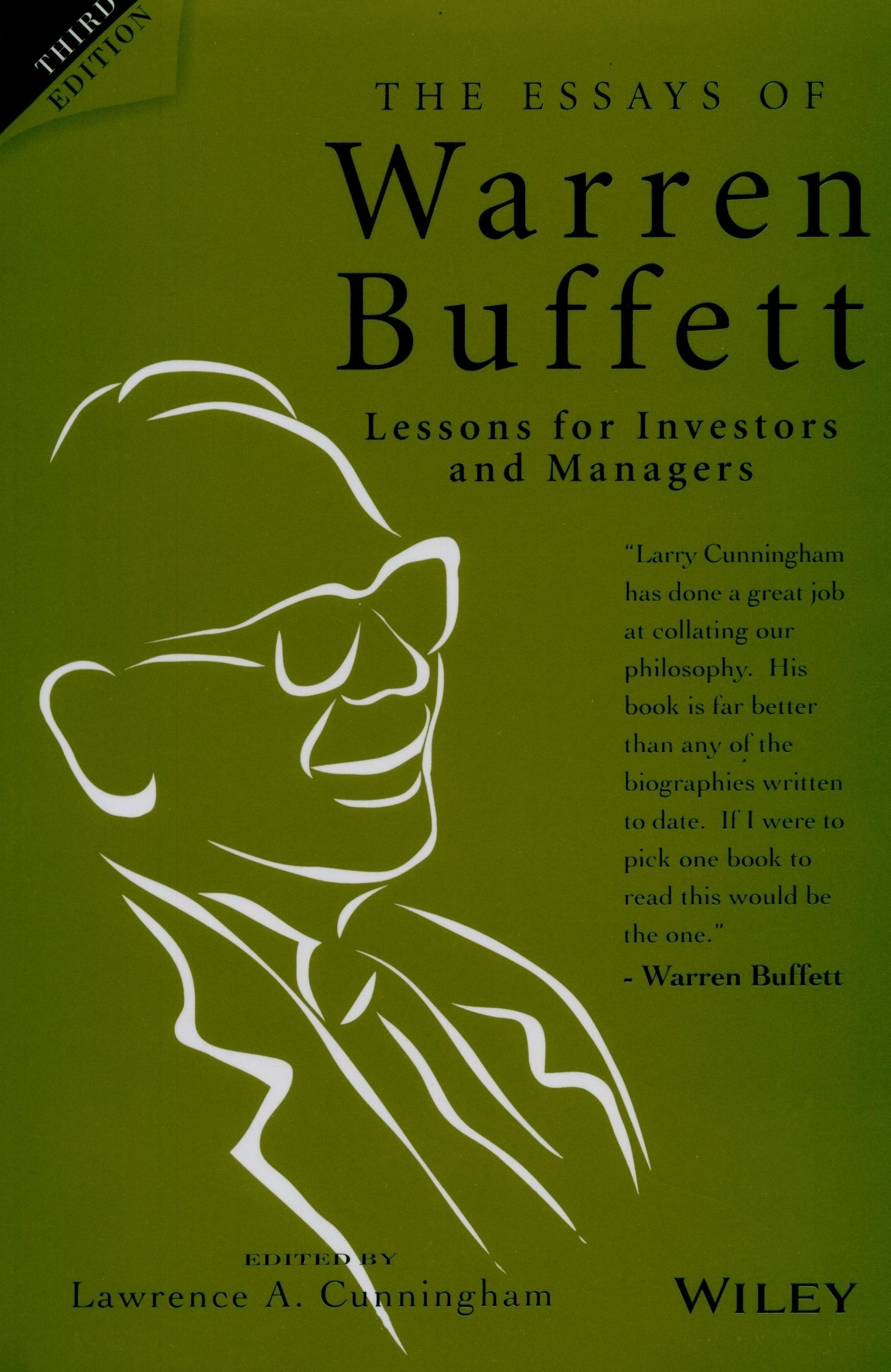 essays warren buffett book review