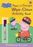 Peppa Pig : Peppa and George's Wipe-clean Activity Book (English): Book