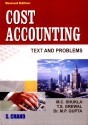 Cost Accounting Text And Problems 12 Edition 12th Edition: Book