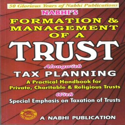 Book on Trust with Tax Planning 2016-17