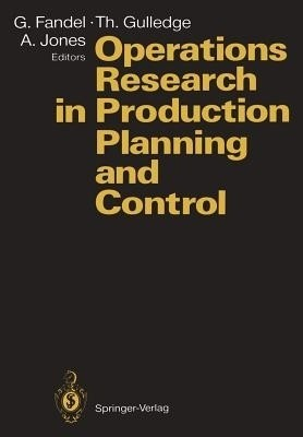Operations Research in Production Planning and Control: Proceedings of a Joint German/Us Conference, Hagen, Germany, June 25 26, 1992. Under the Auspi available at Flipkart for Rs.6267