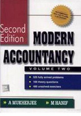 Buy Modern Accountancy (Volume - 2) 2nd Edition: Book