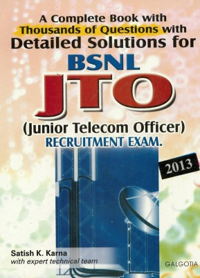 Buy BSNL J.T.O.RECRUITMENT EXAM 2009 (English): Book